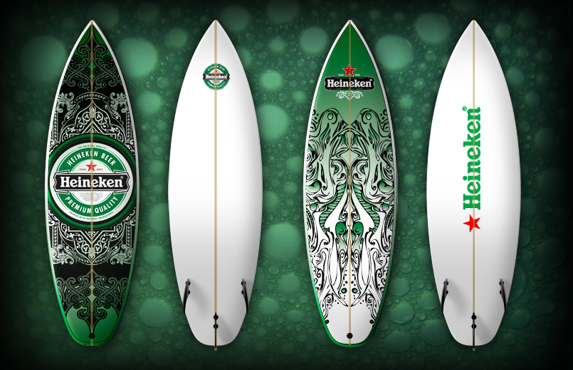 Heineken-shortboard_Solid Surf-1